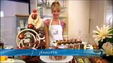 Jennifer Hawkins making chocolate..!