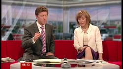 Sian Williams | Breakfast News 24-5-10 | 6 Leg Crosses