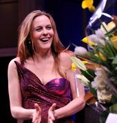 Alicia Silverstone - The Performers curtain call on Broadway in NY 11/14/12