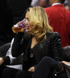 Хайден Панотье, фото 14546. Hayden Panettiere - watching a basketball game at the Staples Center 03/07/12, foto 14546