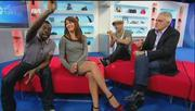 Suzi Perry Shows Off Her Legs