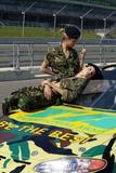 Izabel Goulart - Territorial Army Sponsored Nascar Team Launch 2003
