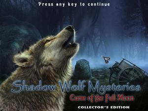 Shadow Wolf Mysteries: Curse of the Full Moon – Collector's Edition