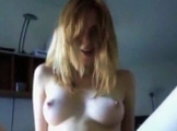 Redheaded GF gets a facial