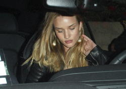 Rosie Huntington Whiteley in Beverly Hills Apr 15 2011